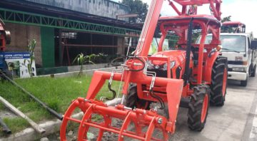 Tractor Implement Sugarcane Grabber