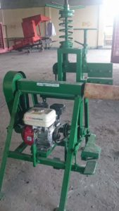 Stripping Machine - Machine used for extracting fiber in the abaca